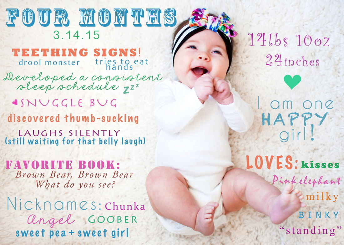This Lovely Life Monthly Baby Stats This Lovely Life