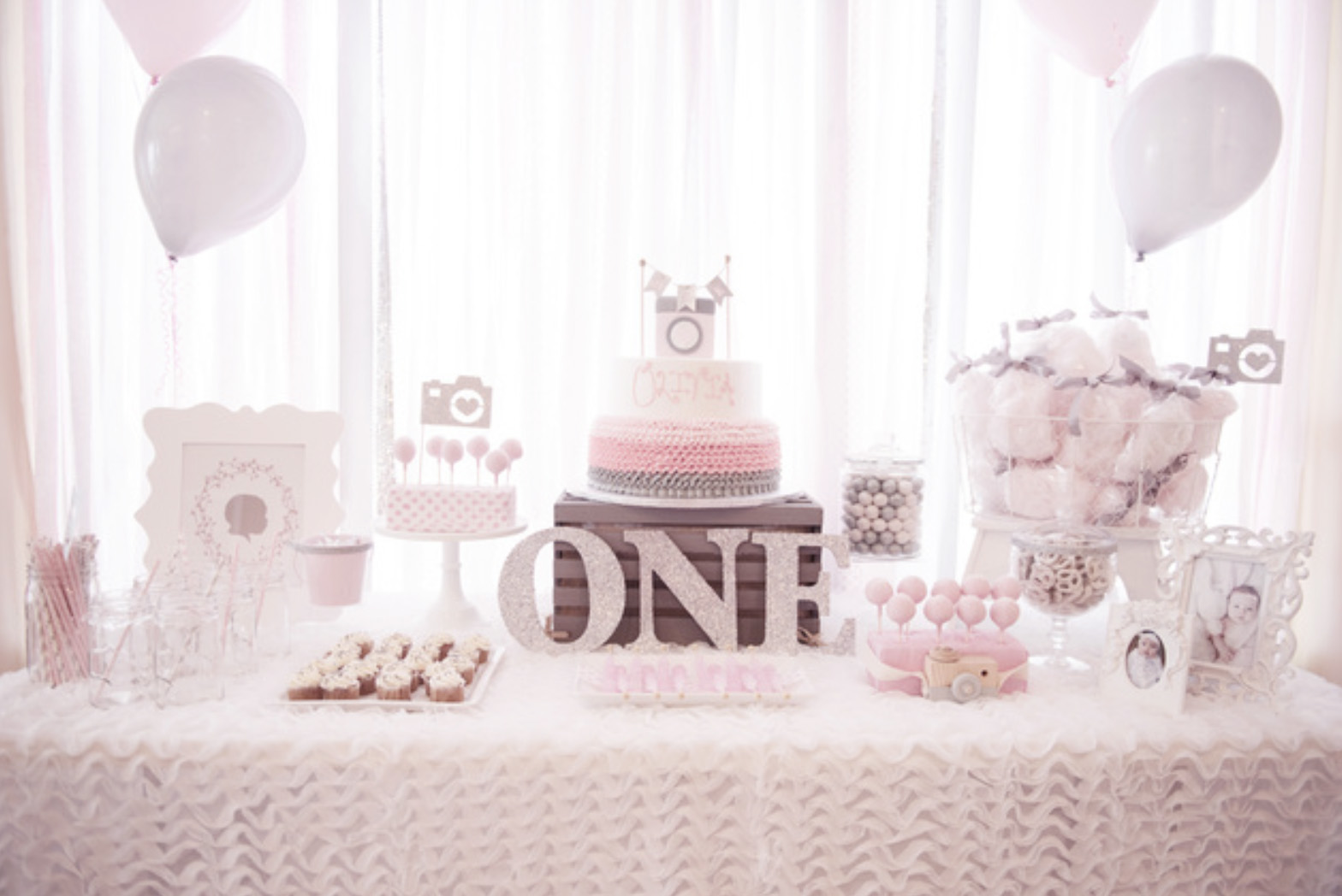This Lovely Life Olivia S First Birthday One Year In A