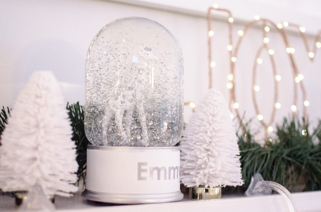snow globes pottery barn