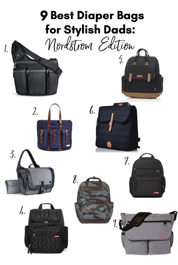 9 Best Diaper Bags For Stylish Dads Nordstrom Edition